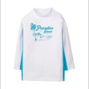 Other - Brand new Janie and Jack Rash guard Paradise